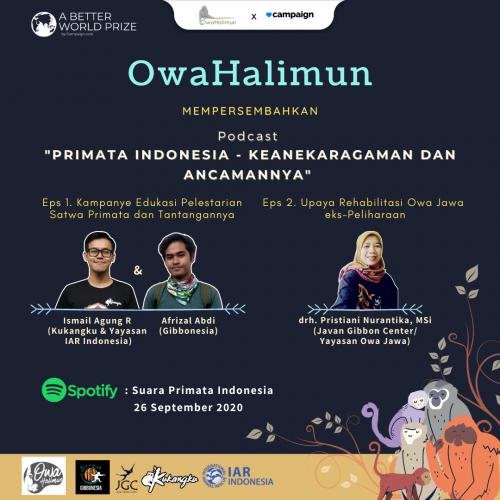 Eps. 1 & 2 Podcast Suara Primata Indonesia